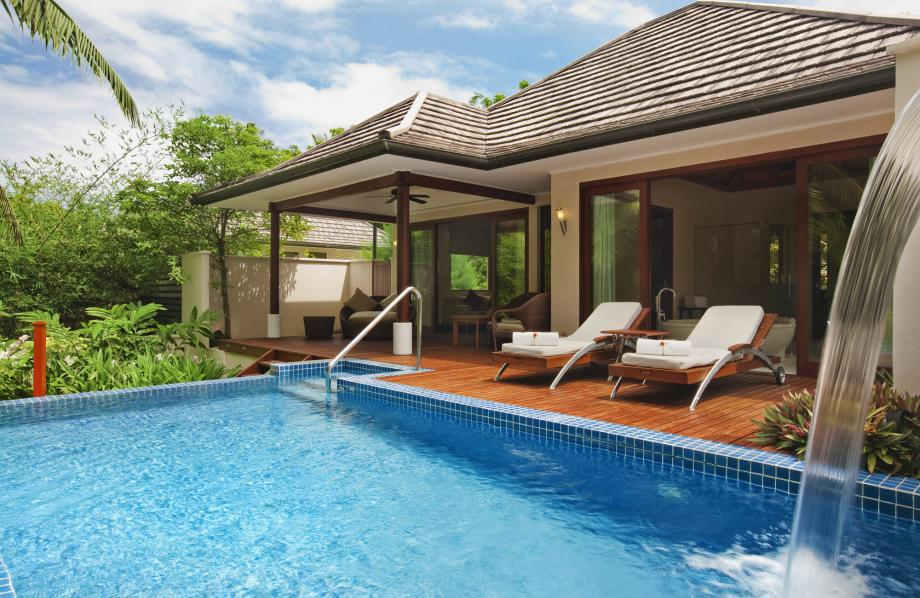 Deluxe Hillside Pool Villa
