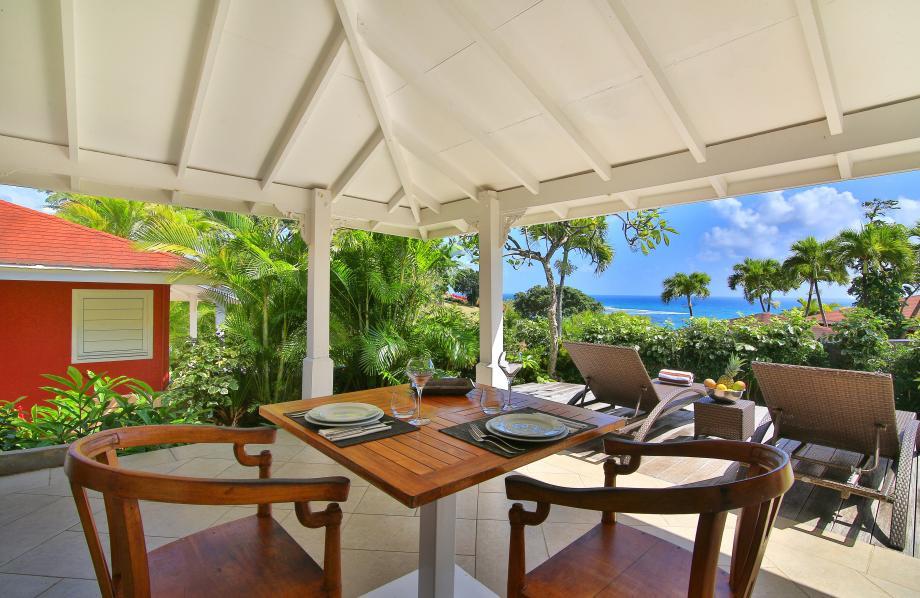 Terrasse des bungalows
