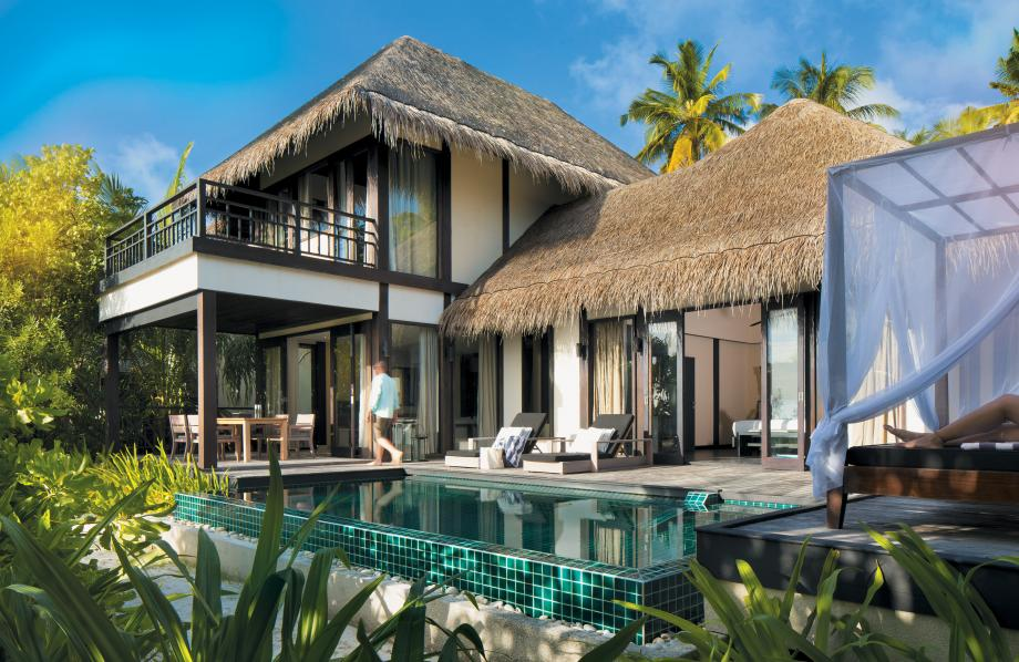 2-Bedroom Beach Villa with Private Pool