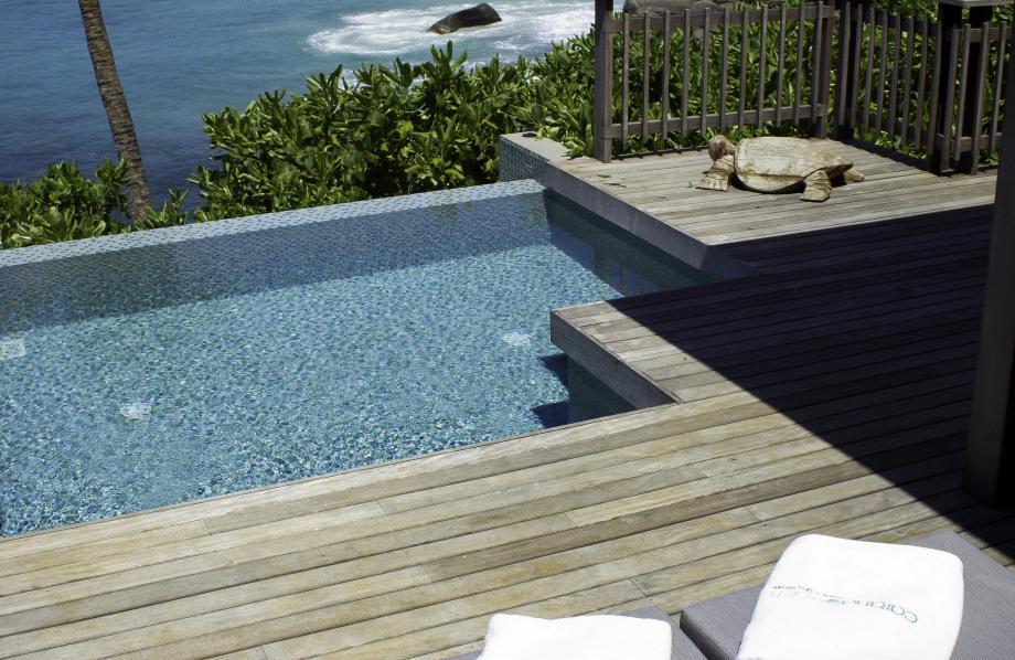 Chalet Vue Océan avec piscine