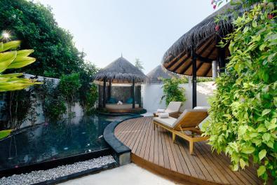 Beach Villa avec piscine